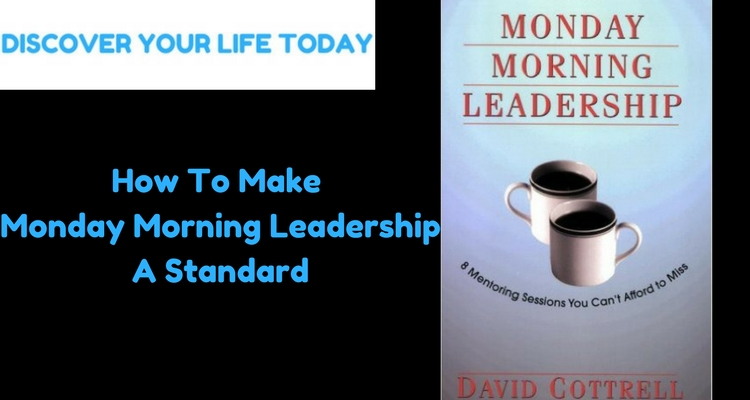 an analysis of david cottrells business book monday morning leadership During the afternoon on monday 6 august  as the engine room of the business,  i assume that he was trying to put some distance between cottrells diatribes and.
